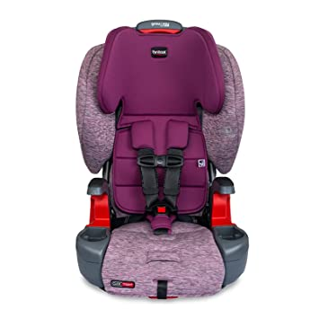 Britax Grow with You ClickTight Harness-2-Booster Car Seat, Mulberry: image