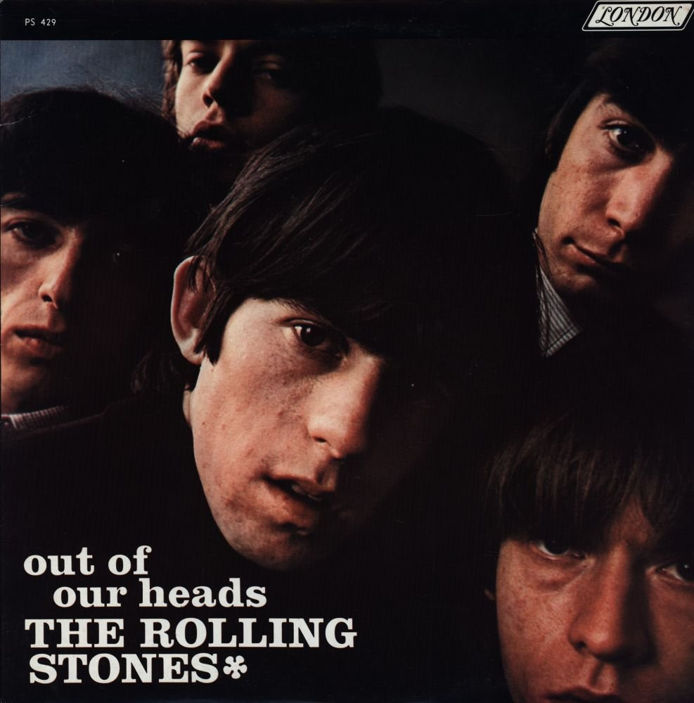 The Rolling Stones - Out Of Our Heads - London Records, ABKCO Records - PS 429, 74921 NM/NM LP