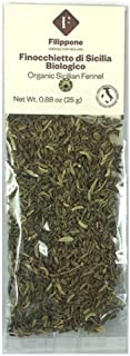 Single Pack Organic Sicilian Fennel Seeds | Perfect condiment for Marinara Sauce, Sausage, Bread, Fish and ...