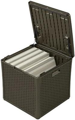 Amazon Com Suncast 50 Gallon Deck Storage Box Small