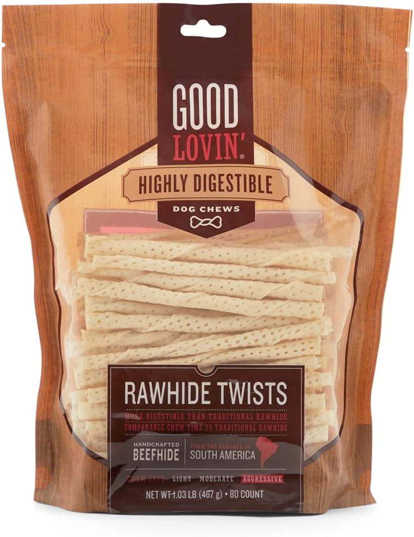 Petco Brand - Max 45% OFF Good Lovin' Highly Twists D 2021 Rawhide Digestible for