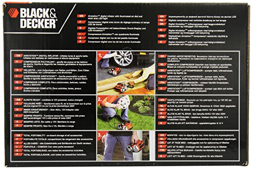 Black und Decker ASI500 Akku Kompressor - 4