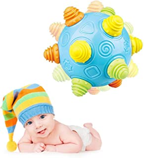 Baby Music Shake Dancing Ball Toy,KOBWA Bouncing Sensory Developmental Ball for Boys and Girls-Baby Kids Interactive Electronic Toy with Personality and Emotions,Gifts for Kids Fun