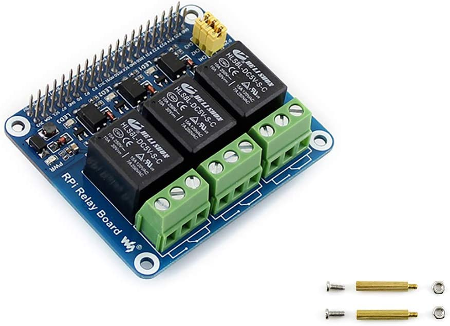waveshare Raspberry Pi Power Board Max 73% OFF Opening large release sale Module Expansion Relay