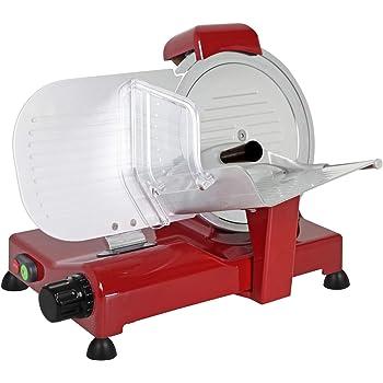 Lama 250 mm professionale Affettatrice Elettrica RGV Special Edition Rossa 25