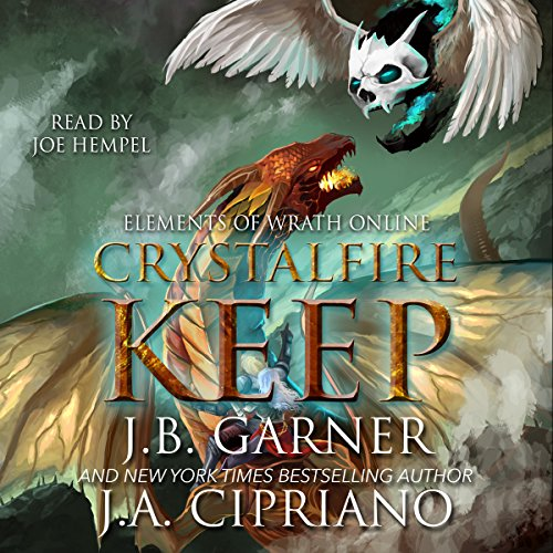 Crystalfire Keep audiobook cover art