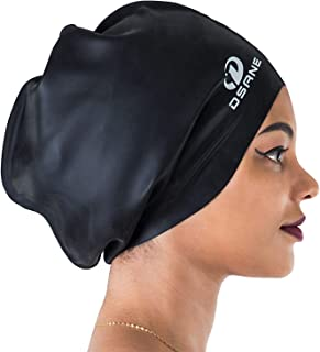 Dsane Extra Large Swimming Cap for Women and Men,Special...