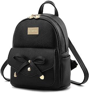 Alice Fashion Shoulder Bag Rucksack PU Leather Women Girls Ladies Backpack Travel bag Women Backpack Purse PU Leather Ruck...
