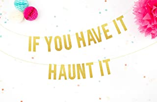 Festoni Halloween Decorazioni di Halloween Festone scritta halloween, ghirlanda decorazione, decorazione per feste a tema,...