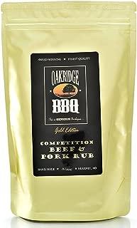Oakridge BBQ Competition Beef & Pork Rub - 1 Lb