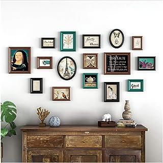 Pared de marco de fotos - Pared de marco de fotos múltiples y grande - Pared de foto de marco de fotos decorativo - Pared ...