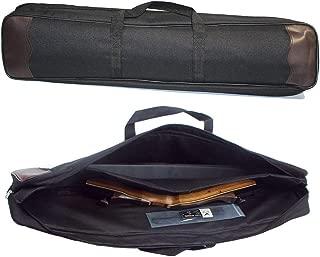 Owlike Lightweight Outdoor Black Bow Bag Storage Case Handbag Adjustable Shoulder Strap