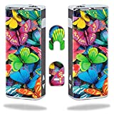 MightySkins Skin Compatible with Eleaf iStick 20W – Butterfly Party | Protective, Durable, and Unique Vinyl Decal wrap Cover | Easy to Apply, Remove, and Change Styles | Made in The USA