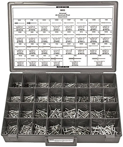 Disco Automotive 8653 Aluminum Rivet Assortment