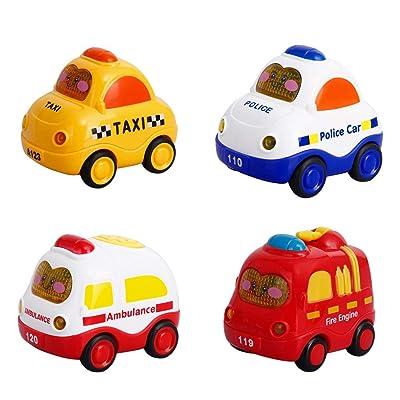 Mallya Emergency Toy Cars for Toddler boy Music...