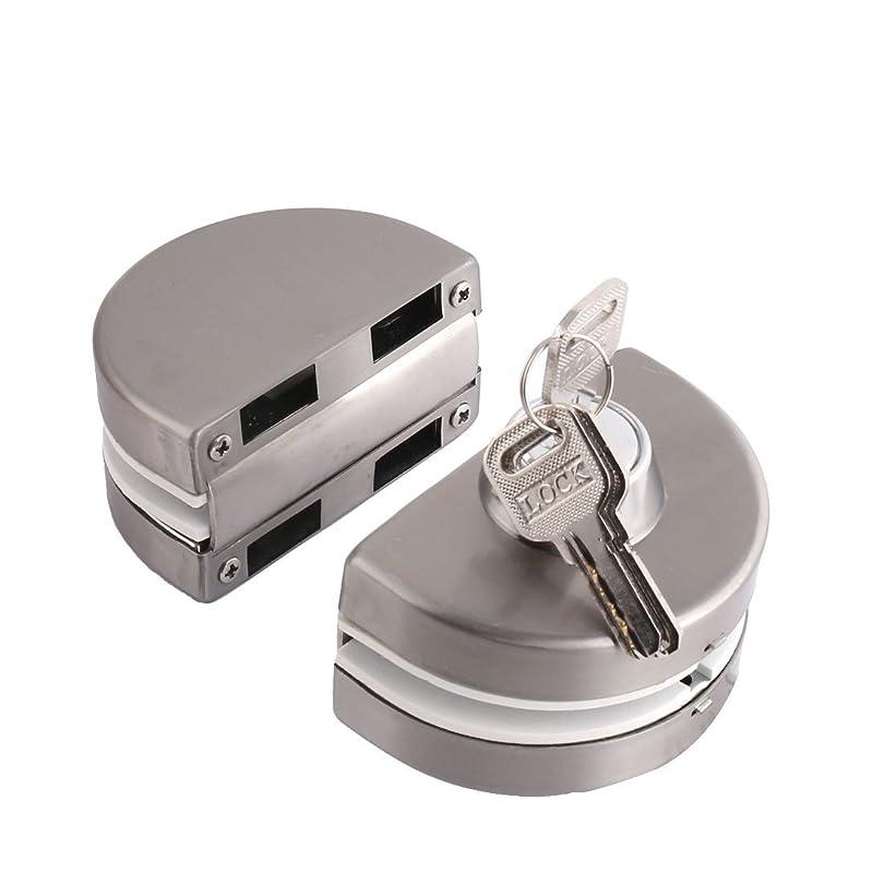 確執指標どのくらいの頻度でuxcell ガラスドアロック 10mm-12mm 面付シリンダー錠 丸型 3キー ダブルボルト