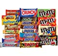 Chocolate Bars - Bulk Chocolate - Assorted Chocolates King Size Mix, All Your Favorite Chocolate Bars Including M&M, Snickers, Skittles, Twix and More, 20 Extra Large Bars