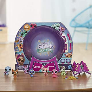 Littlest Pet Shop Lucky Pets Crystal Ball Megapack Surprise Pet Toy, Ages 4 & Up