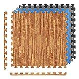 Alfombrillas protectoras Premium – Juego de 8 Alfombrillas para Suelo 3,175 m², Protector de suelo 60x60 cm. Alfombrilla Protectora.