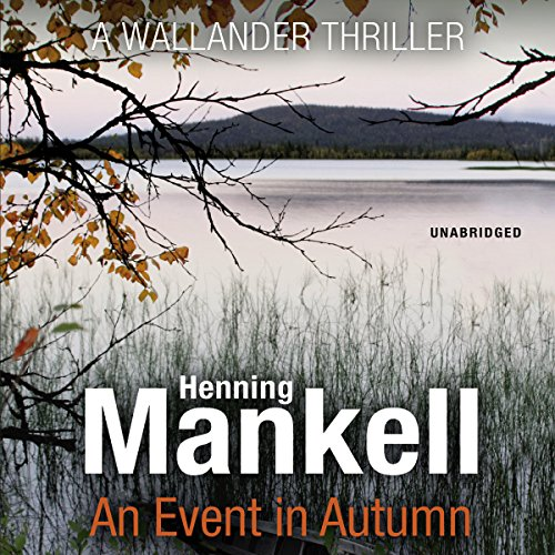 An Event in Autumn audiobook cover art