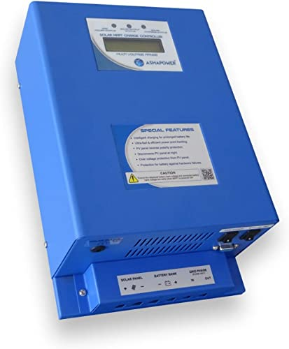 Ashapower Solar MPPT Charge Controller 12/24V : 60 A (Surya 60)