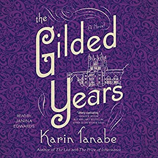 The Gilded Years audiobook cover art