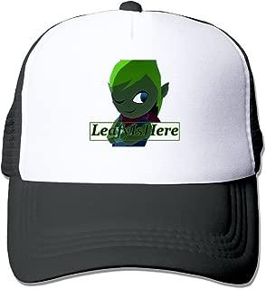 BAI XUE LeafyIsHere Logo Unisex Up Adjustable Baseball Hat