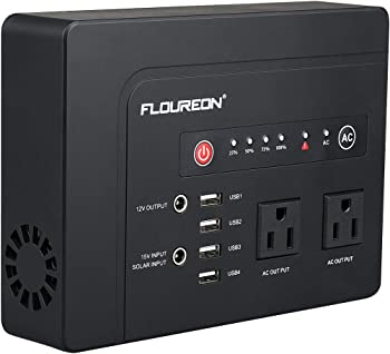 floureon 200 Watt Solar Battery Portable Generator