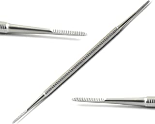 Professional Chiropody Toe Nail File Double Ended Stainless Steel Finger Hand Nail Dressing