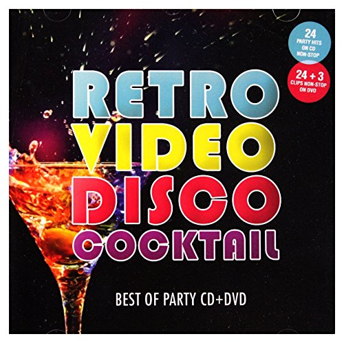 ABBA / Peter Kent / Robin Gibb: Retro Video Disco Koktel (digipack) [CD]+[DVD]
