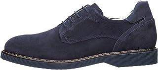 NEROGIARDINI E001466U Zapatos De Cordones Hombre De Ante