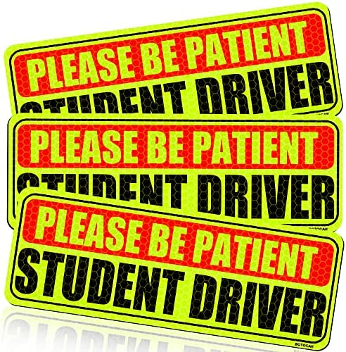 Botocar Student Driver Magnet for Car, Please...