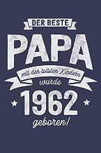 Der Bester Papa wurde 1962 geboren: Wochenkalender 2020 mit Jahres- und Monatsübersicht und Tracking von Gewohnheiten - Terminplaner - ca. Din A5 (German Edition)