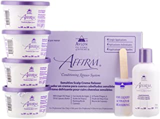 Affirm Sensitive Scalp Relaxer 4 Application
