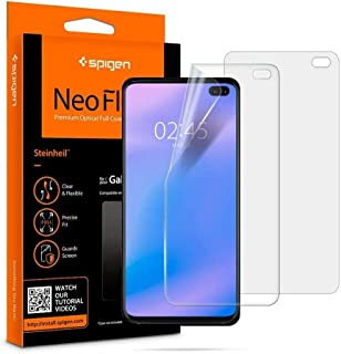 Screen Protector for Samsung Galaxy S10 Plus, Spigen NeoFlex, 2 Pack