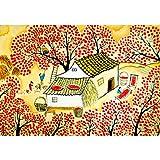 assoluto Rompecabezas De Golden Autumn Harvest, 500/1000/1500 Piezas De Juguetes De Fotografía En Caja, Pretty Girl Magic Fairy, Adult & Kids Stress Reliever Puzzle(Size:1000 Pedazos)