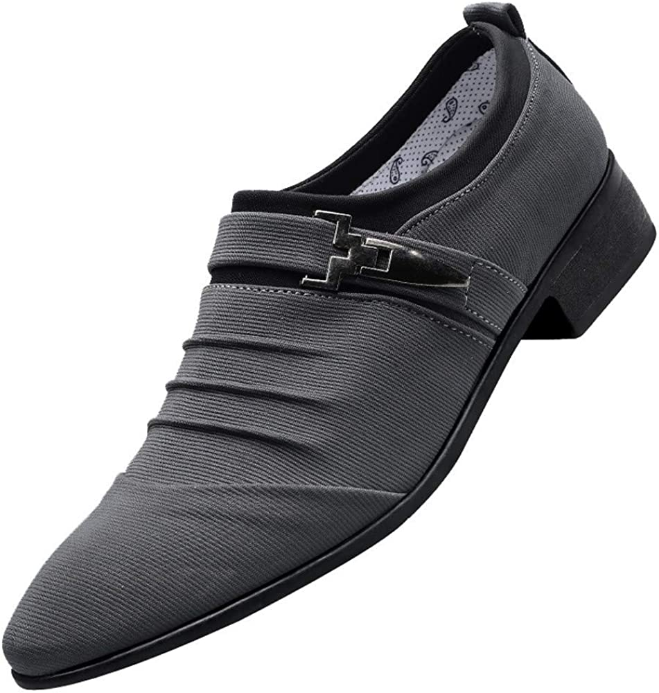 Trust Men Running Sale Special Price Shoes F_Gotal Formal Pointe Men's Canvas