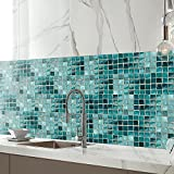 Animatey Mosaic Tile Stickers For Kitchen Oil-Proof Anti-Scratch Gas Cooker Shower Room Sticker