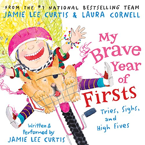My Brave Year of Firsts audiobook cover art