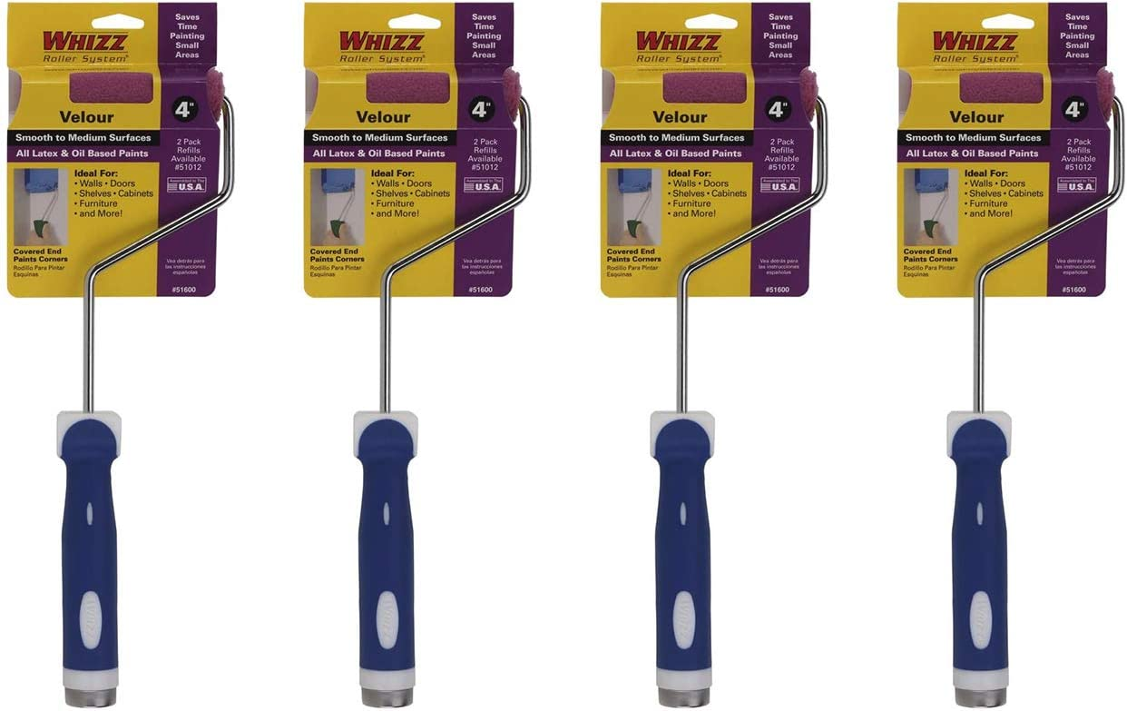 Work Bargain sale Tools International 51600 4-Inch Ranking TOP1 Paint Cover Roller a Whizz