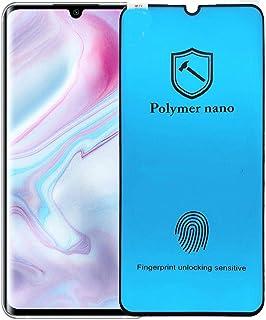Polymer Nano Screen Protector for Xiaomi mi note 10 lite with fingerprint unlocking sensitive - Clear