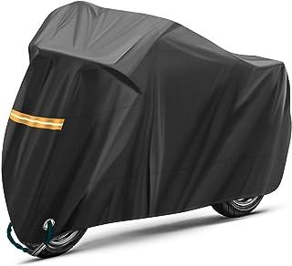 dd0d0e70a7c TOPVORK Funda para Moto, Impermeable Funda Protector Cubierta para  Motocicleta 210D, Cubierta de la