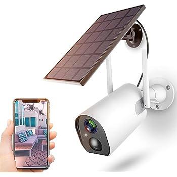 ACEHE WLAN Batteriebetriebe Überwachungskamera Wiederaufladbar PIR Detektion DHL
