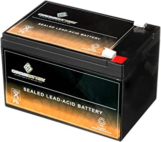 Rechargeable 12V 15AH Sealed Lead Acid (SLA) Battery - T2 Terminals - Replacement for ZB-12-15