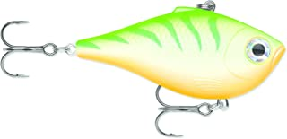 Rapala Rippin' Rap 07 Green Tiger UV Lure, Multi, One Size (RPR07GTU)