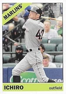 2015 Topps Heritage High Number Action Image Variations #706 Ichiro Marlins MLB Baseball Card NM-MT