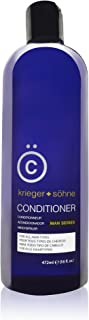K + S Men's Hair Conditioner – Stylist-Level Hair Care Products for Men - Infused with Peppermint Oil for All hair types (...
