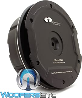 "CDT Audio SUB-15H 15"" 380W Peak Spare Wheel Active Subwoofer"