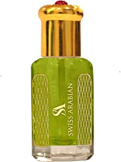 PACIFIC ISLES 12mL | Artisanal Hand Crafted Perfume Oil Fragrance for Men| Traditional Attar Style Cologne | by Perfumer Swiss Arabian | Great Gift/Party Favors | Pocket Size Body Oil