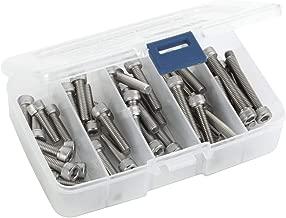 50 PCS Socket Head Cap Screw Assortment Set, M6 x 20mm, 25mm, 30mm, 35mm, and 40mm, Stainless Steel 304, Bright Finish